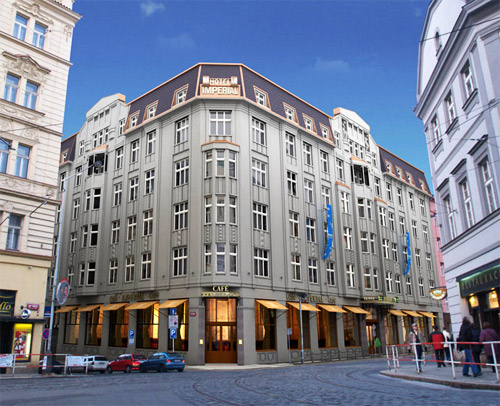 Hotel imperial picture gallery prague czech republic for Hotel reservation in prague